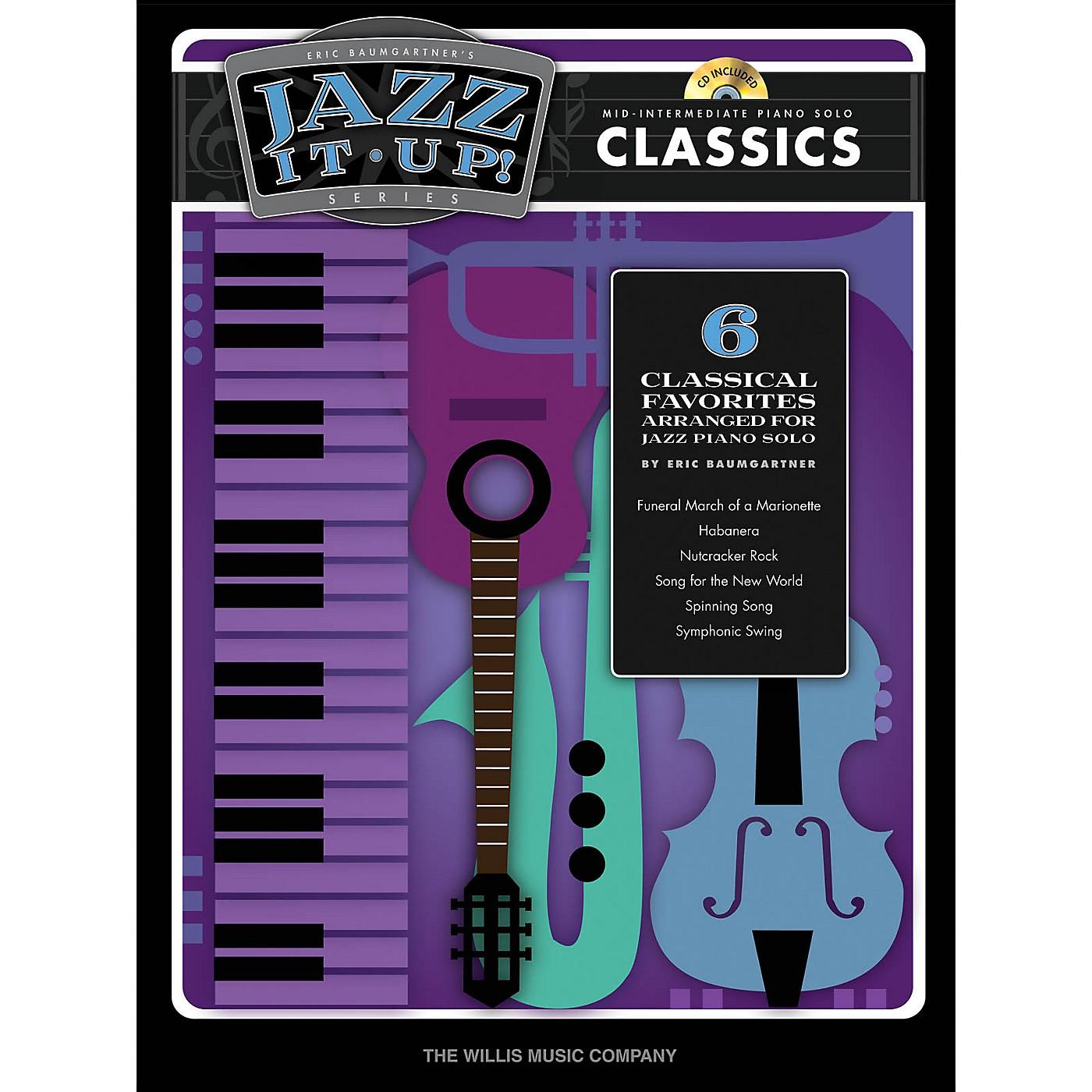 Willis Music Eric Baumgartner's Jazz It Up! - Classics - Bk/CD Willis Series Book with CD (Level Mid-Inter) thumbnail