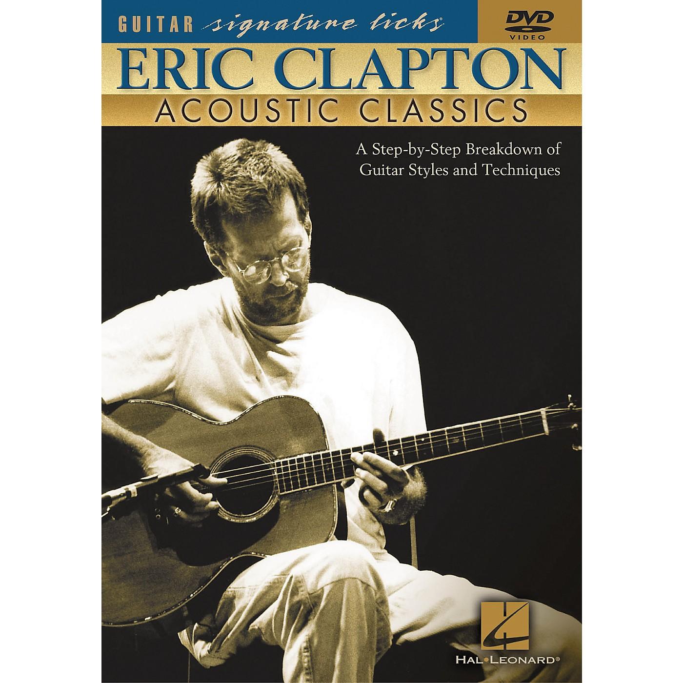 Hal Leonard Eric Clapton - Acoustic Classics (DVD) thumbnail