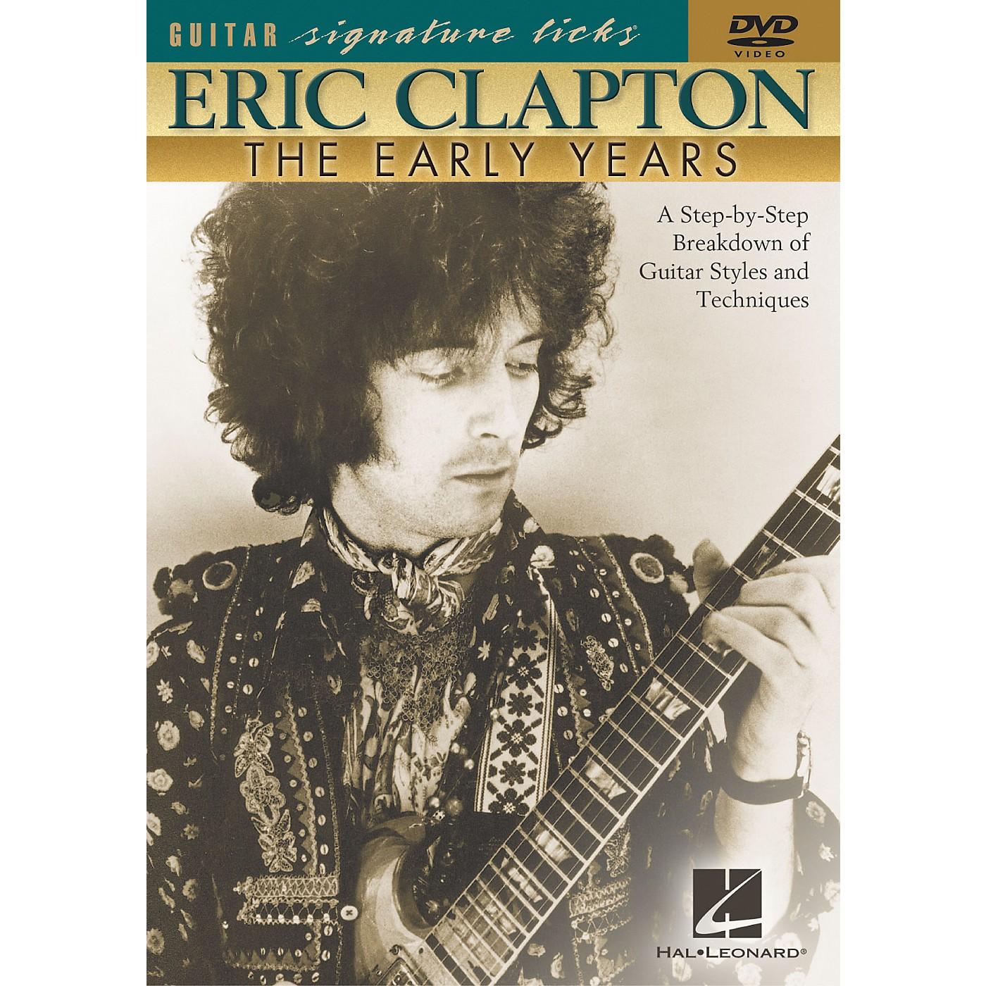 Hal Leonard Eric Clapton - The Early Years (DVD) thumbnail