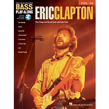 Hal Leonard Eric Clapton (Bass Play-Along Volume 29) Bass Play-Along Series Softcover with CD by Eric Clapton