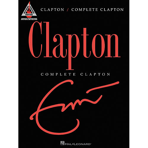 Hal Leonard Eric Clapton Complete Clapton Guitar Tab Songbook thumbnail