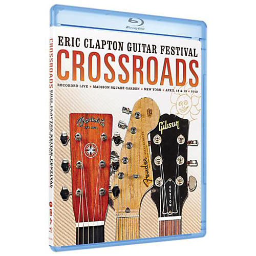 WEA Eric Clapton Crossroads Guitar Festival 2013 BLU RAY thumbnail