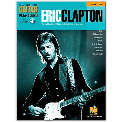 Hal Leonard Eric Clapton Guitar Play-Along Series Volume 24 (Book/Online Audio) thumbnail