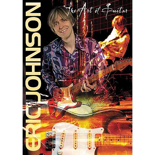 Hal Leonard Eric Johnson - The Art of Guitar (DVD) thumbnail
