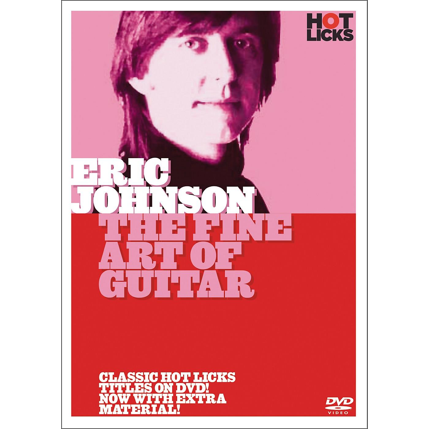 Hot Licks Eric Johnson: The Fine Art Of Guitar (DVD) thumbnail