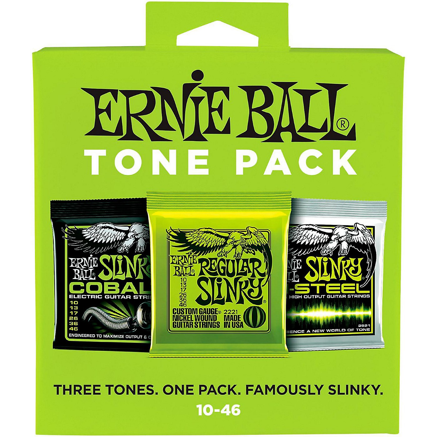 Ernie Ball Ernie Ball Regular Slinky Electric Guitar String Tone Pack thumbnail
