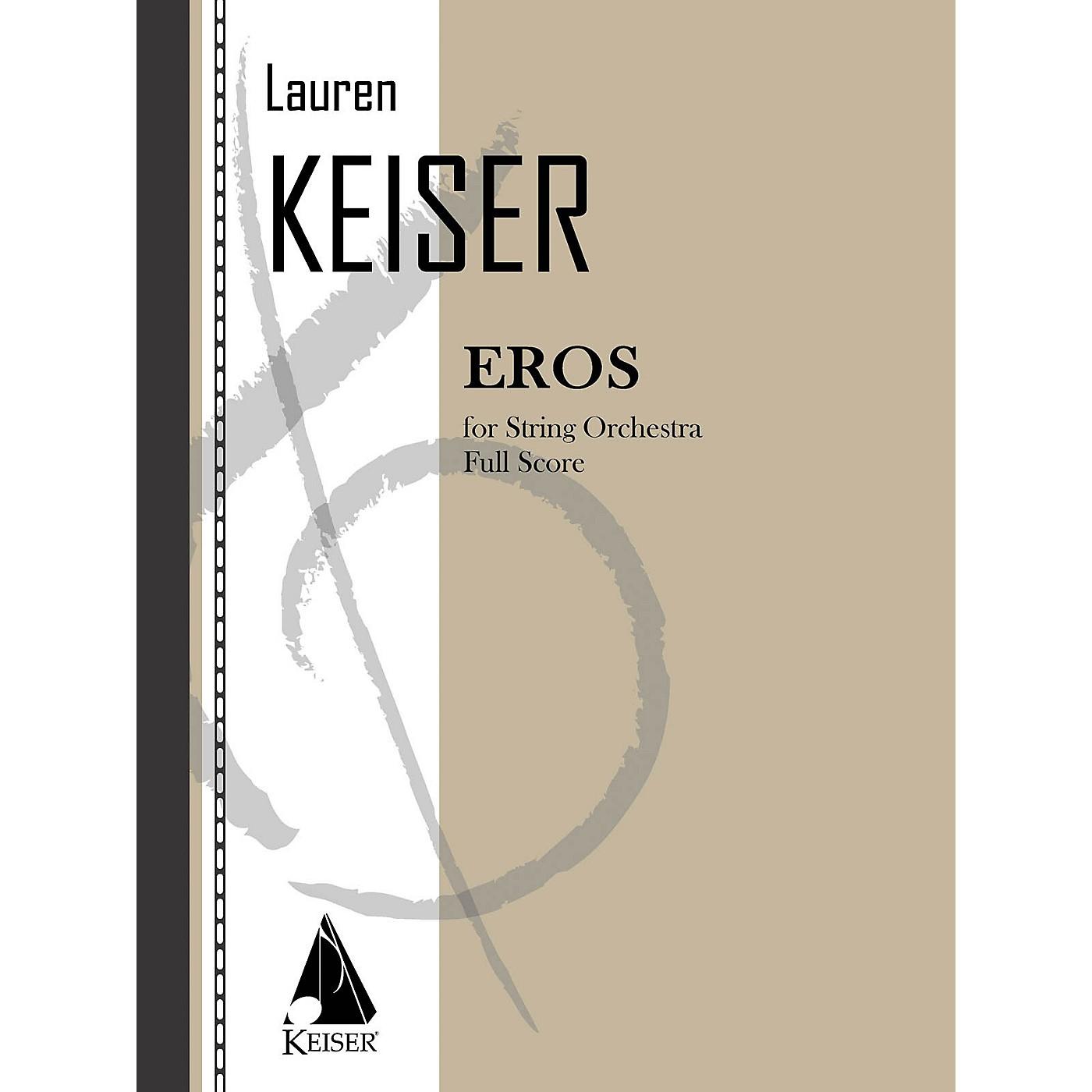Lauren Keiser Music Publishing Eros (for String Orchestra) LKM Music Series Composed by Lauren Keiser thumbnail