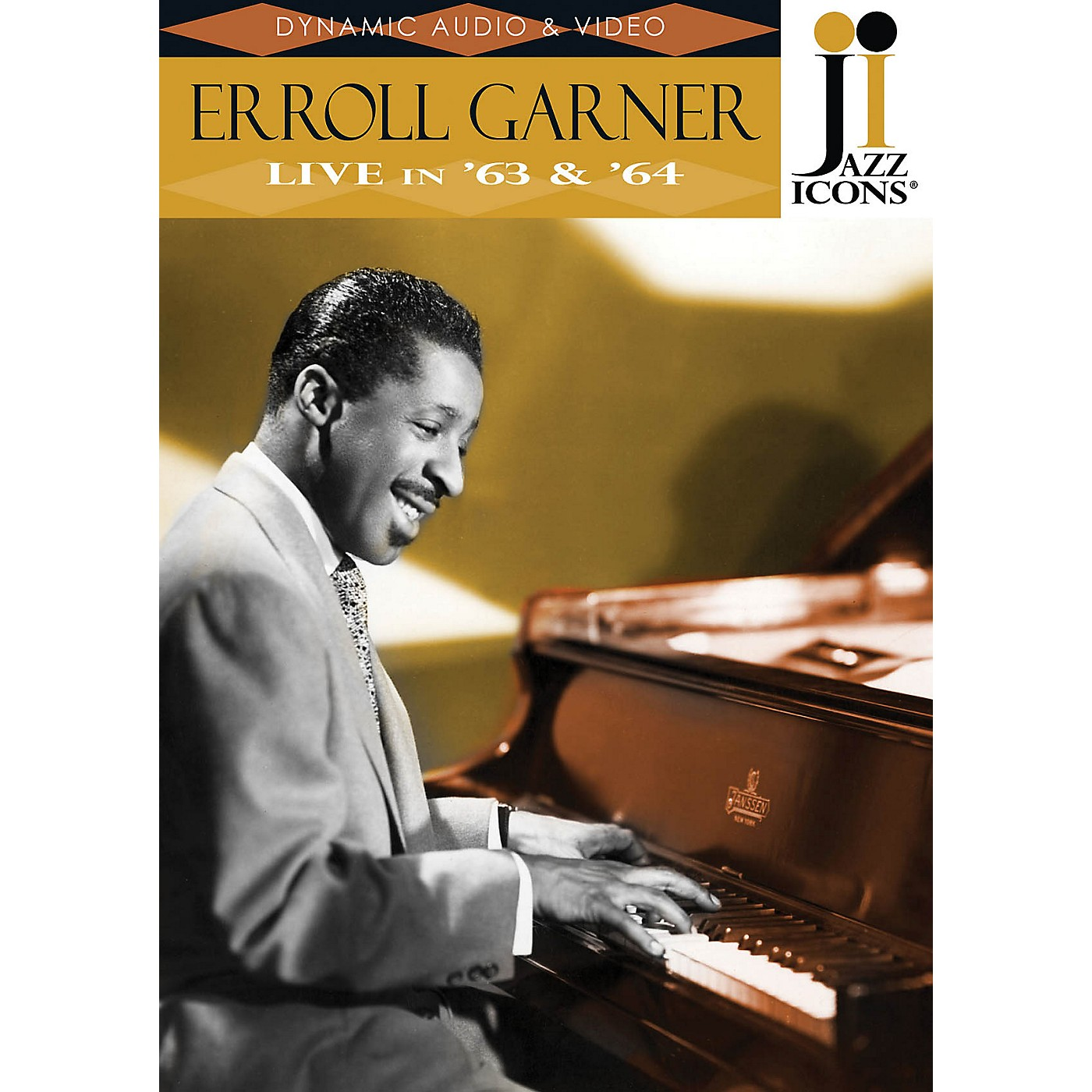 Jazz Icons Erroll Garner - Live in '63 & '64 (Jazz Icons DVD) DVD Series DVD Performed by Erroll Garner thumbnail