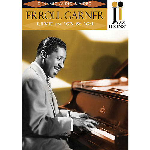 Jazz Icons Erroll Garner - Live in '63 & '64 (Jazz Icons DVD) DVD Series DVD Performed by Erroll Garner thumbnail