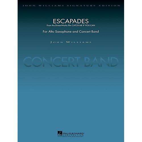 Hal Leonard Escapades (from Catch Me If You Can) Concert Band Level 5 Arranged by Stephen Bulla thumbnail