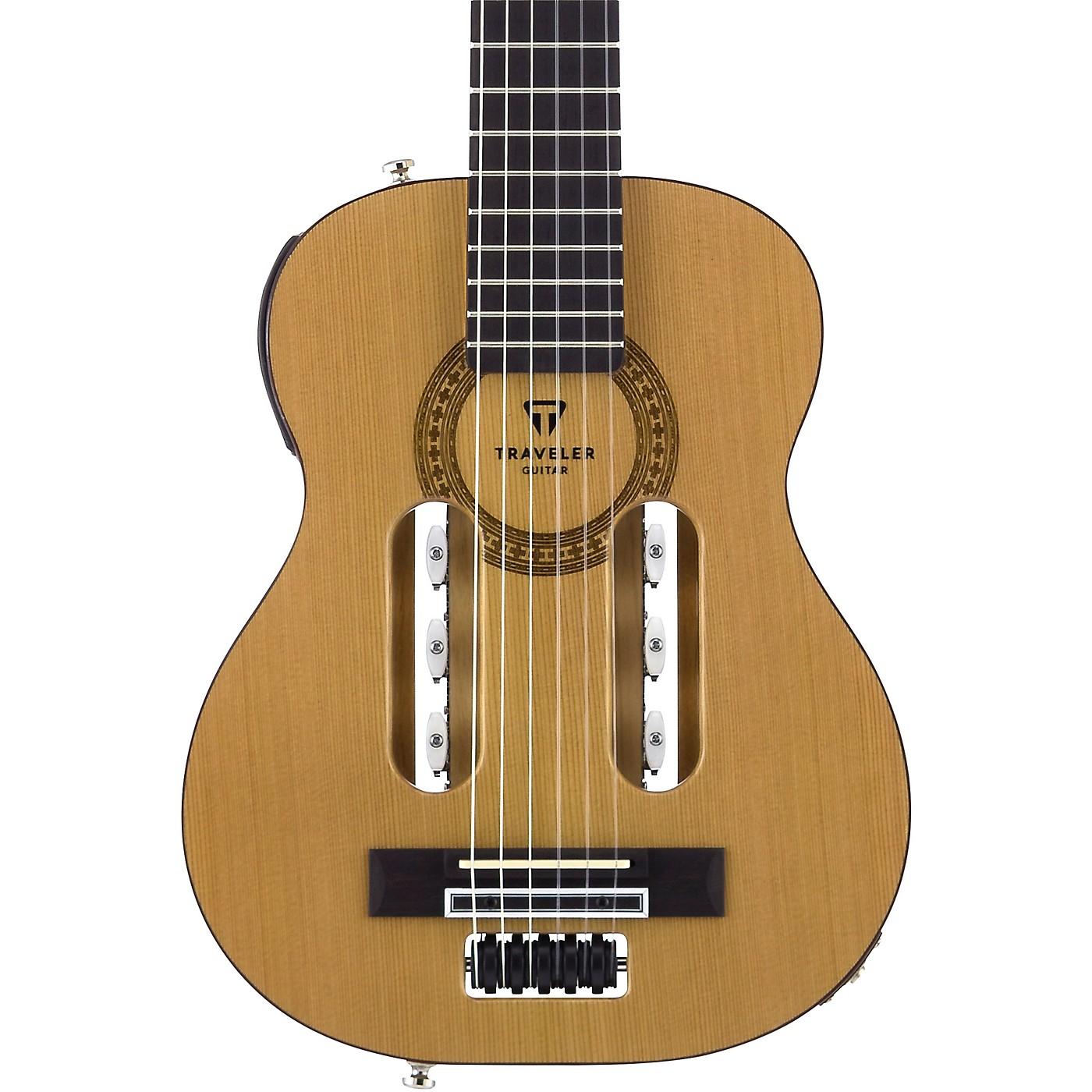 Traveler Guitar Escape Classical Nylon-String Acoustic-Electric Guitar - Woodwind & Brasswind
