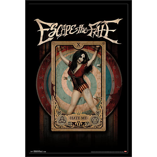 Trends International Escape The Fate - Hate Me Poster thumbnail