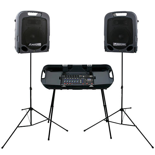 Peavey Escort 3000 Self Powered Portable PA System 300 Watts thumbnail