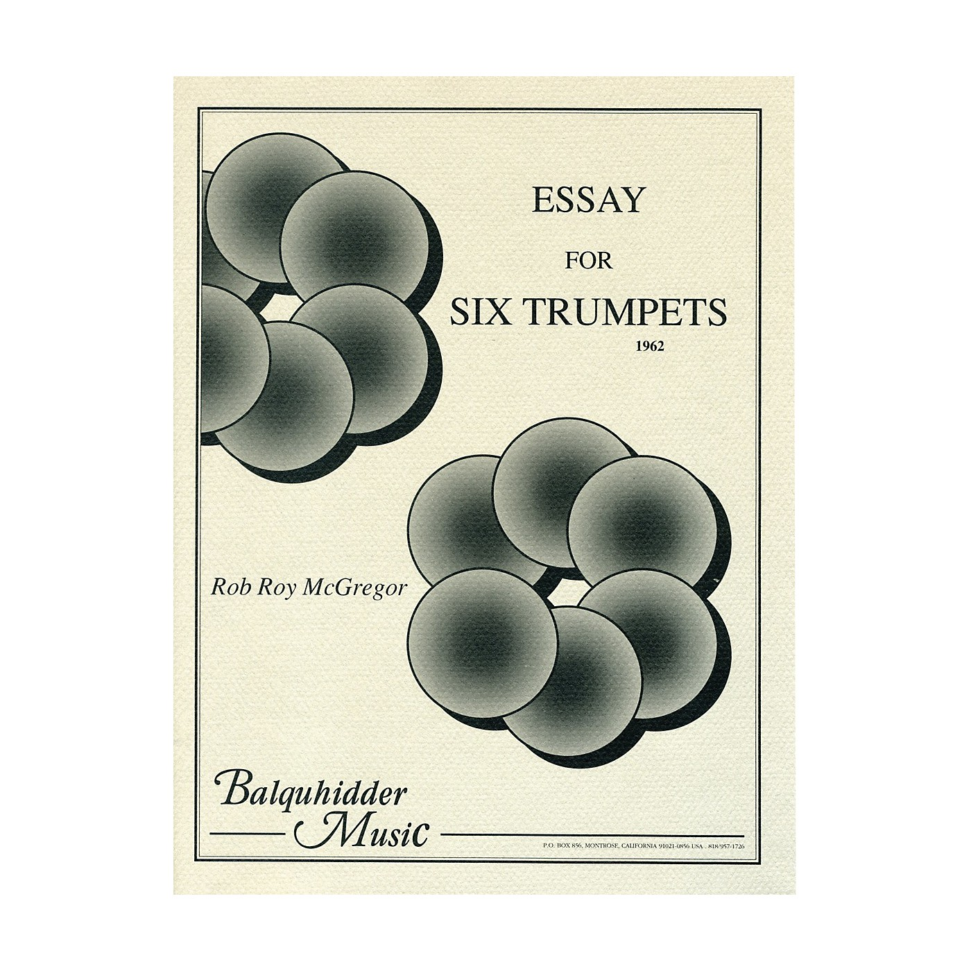 Carl Fischer Essay for Six Trumpets Book thumbnail
