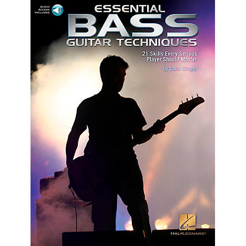 Hal Leonard Essential Bass Guitar Techniques - 21 Skills Every Serious Player Should Master Book/Online Audio thumbnail