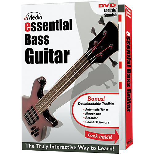 Emedia Essential Bass Instructional DVD thumbnail