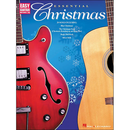Hal Leonard Essential Christmas Easy Guitar with Notes & Tab-thumbnail