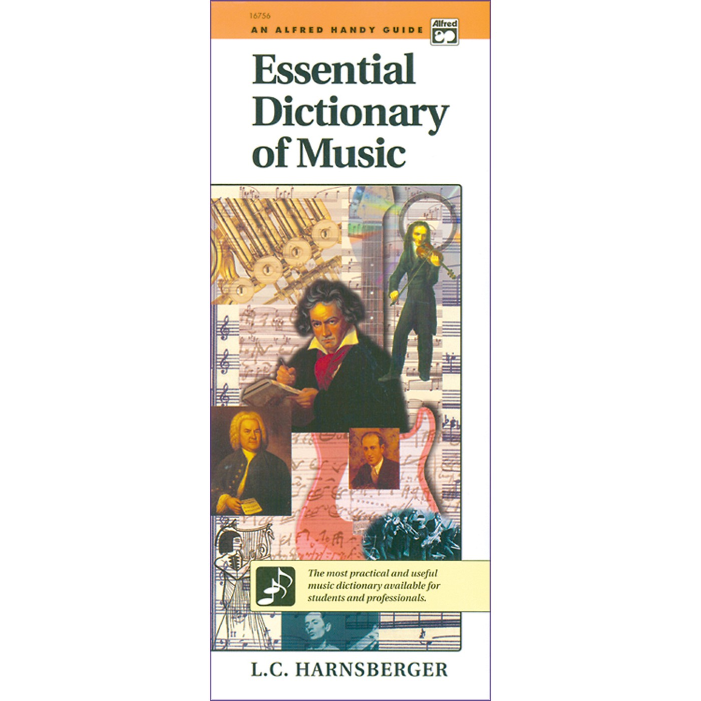 Alfred Essential Dictionary of Music  Handy Guide thumbnail