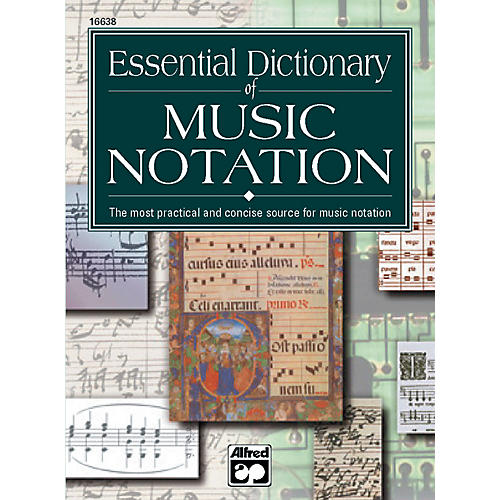Alfred Essential Dictionary of Music Notation  Pocket Size Book thumbnail