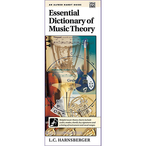 Alfred Essential Dictionary of Music Theory  Handy Guide thumbnail