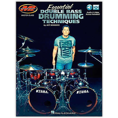 Musicians Institute Essential Double Bass Drumming Techniques Master Class Series Includes Audio and Video Access thumbnail