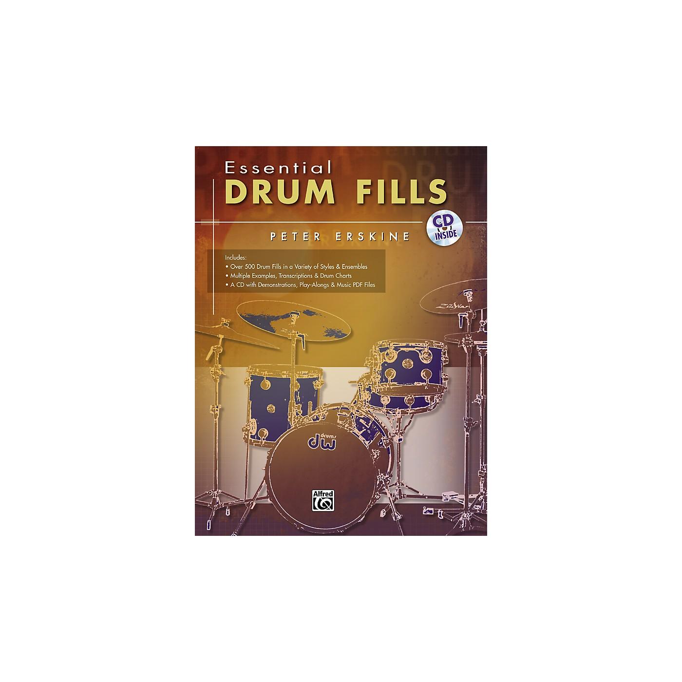Alfred Essential Drum Fills thumbnail