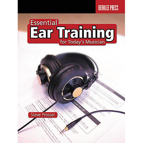 Berklee Press Essential Ear Training for the Contemporary Musician Book thumbnail