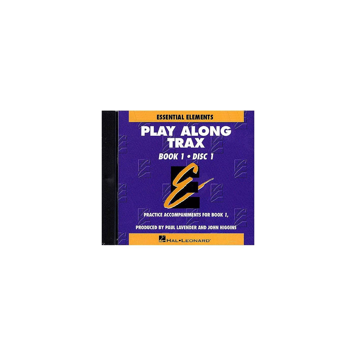 Hal Leonard Essential Elements - Book 1 (Original Series) (Play Along Trax (2-CD set)) Concert Band thumbnail