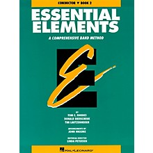 Hal Leonard Essential Elements - Book 2 (Original Series) (Conductor) Concert Band