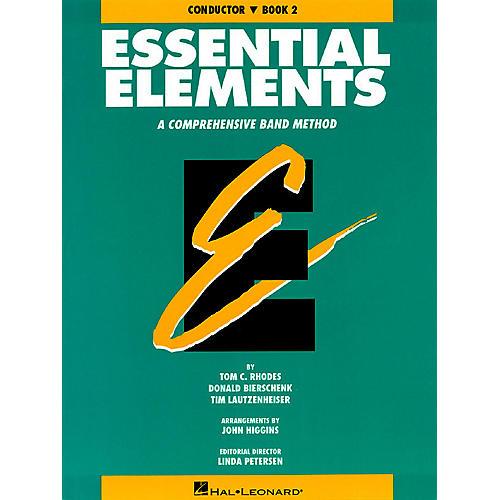 Hal Leonard Essential Elements - Book 2 (Original Series) (Conductor) Concert Band thumbnail