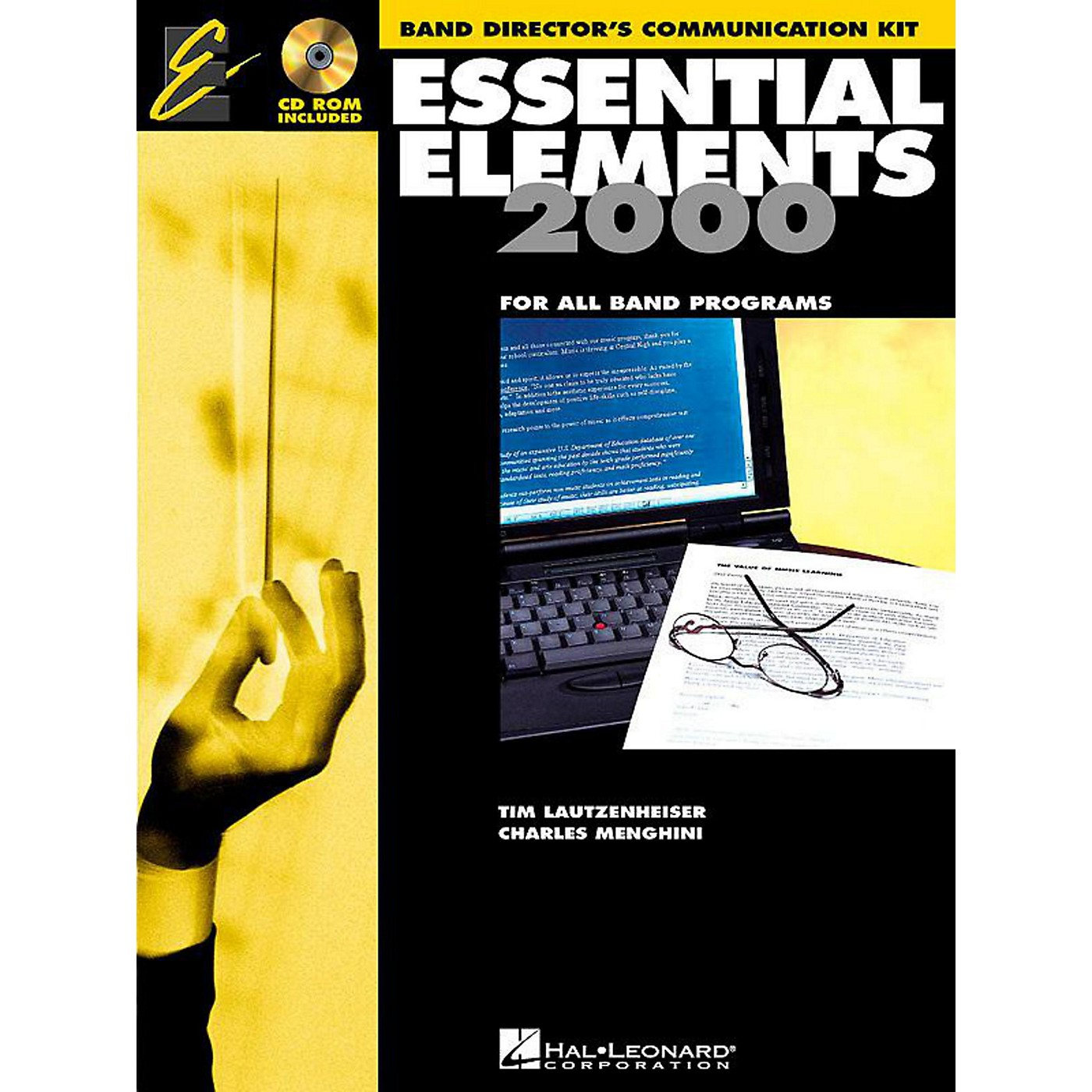 Hal Leonard Essential Elements 2000 for Band - Band Director's Communication Kit (Book 1 with CD-ROM) thumbnail