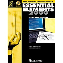 Hal Leonard Essential Elements 2000 for Band - Band Director's Communication Kit (Book 1 with CD-ROM)