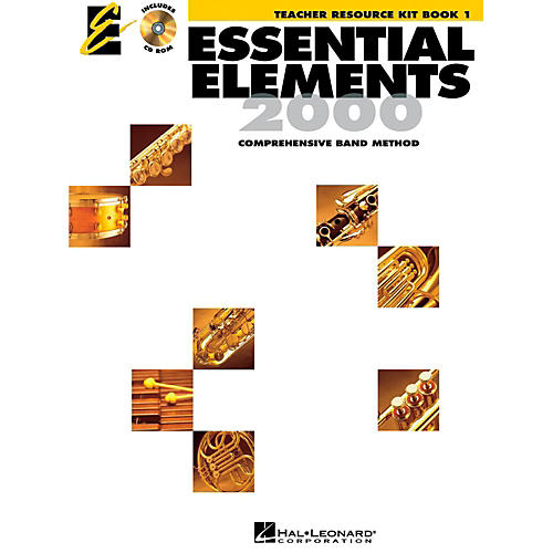Hal Leonard Essential Elements 2000 for Band - Teacher Resource Kit (Book 1 with CD-ROM) thumbnail