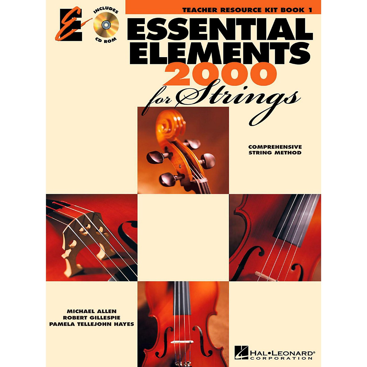 Hal Leonard Essential Elements 2000 for Strings - Teacher Resource Kit (Book 1 with CD-ROM) thumbnail
