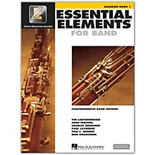 Hal Leonard Essential Elements Bassoon 1 Book/Online Audio