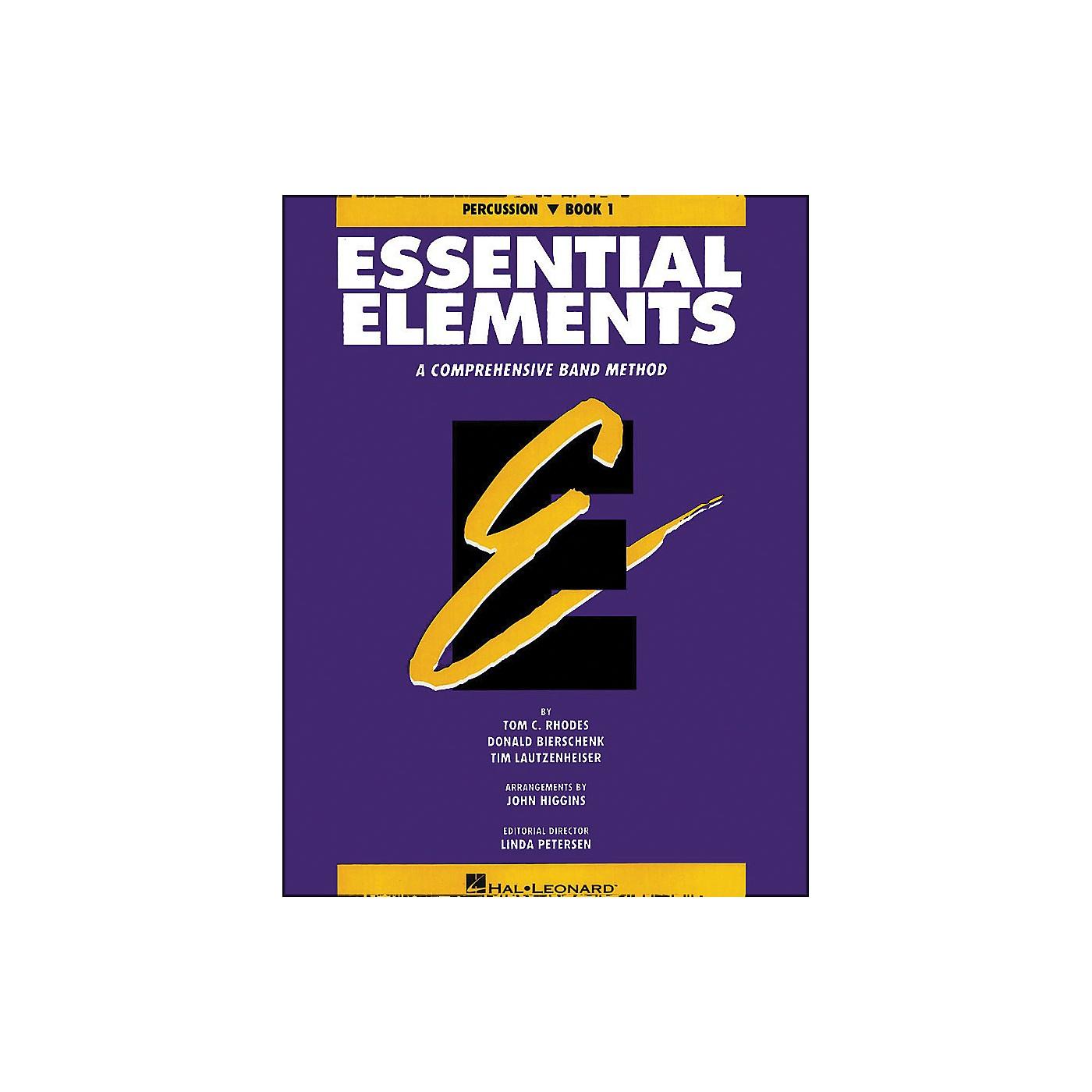 Hal Leonard Essential Elements Book 1 Percussion thumbnail