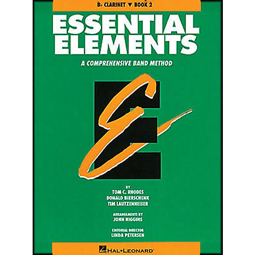 Hal Leonard Essential Elements Book 2 B Flat Clarinet thumbnail