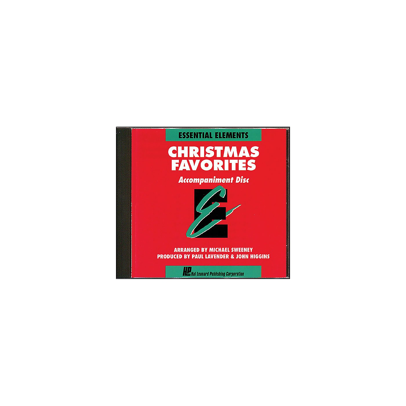 Hal Leonard Essential Elements Christmas Favorites Accompaniment CD thumbnail