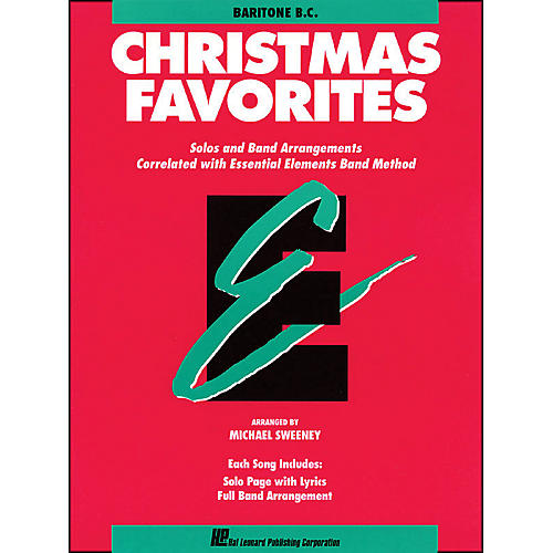 Hal Leonard Essential Elements Christmas Favorites Baritone B.C. thumbnail