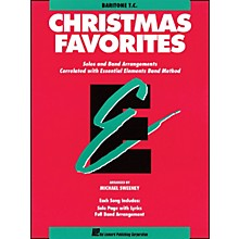 Hal Leonard Essential Elements Christmas Favorites Baritone T.C.