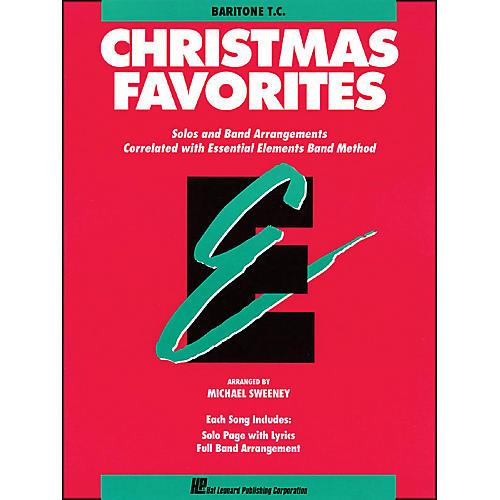 Hal Leonard Essential Elements Christmas Favorites Baritone T.C. thumbnail