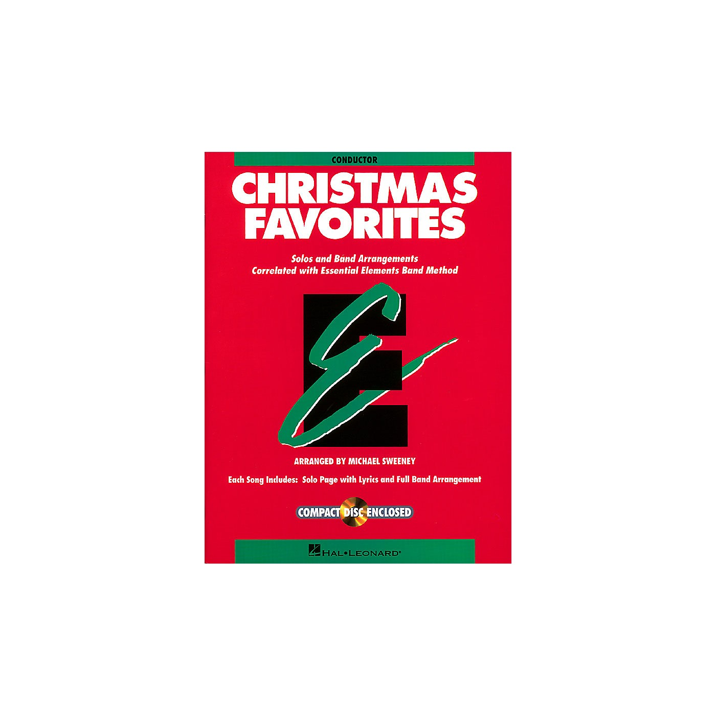 Hal Leonard Essential Elements Christmas Favorites Concert Band Level .5 to 1.5 Arranged by Michael Sweeney thumbnail