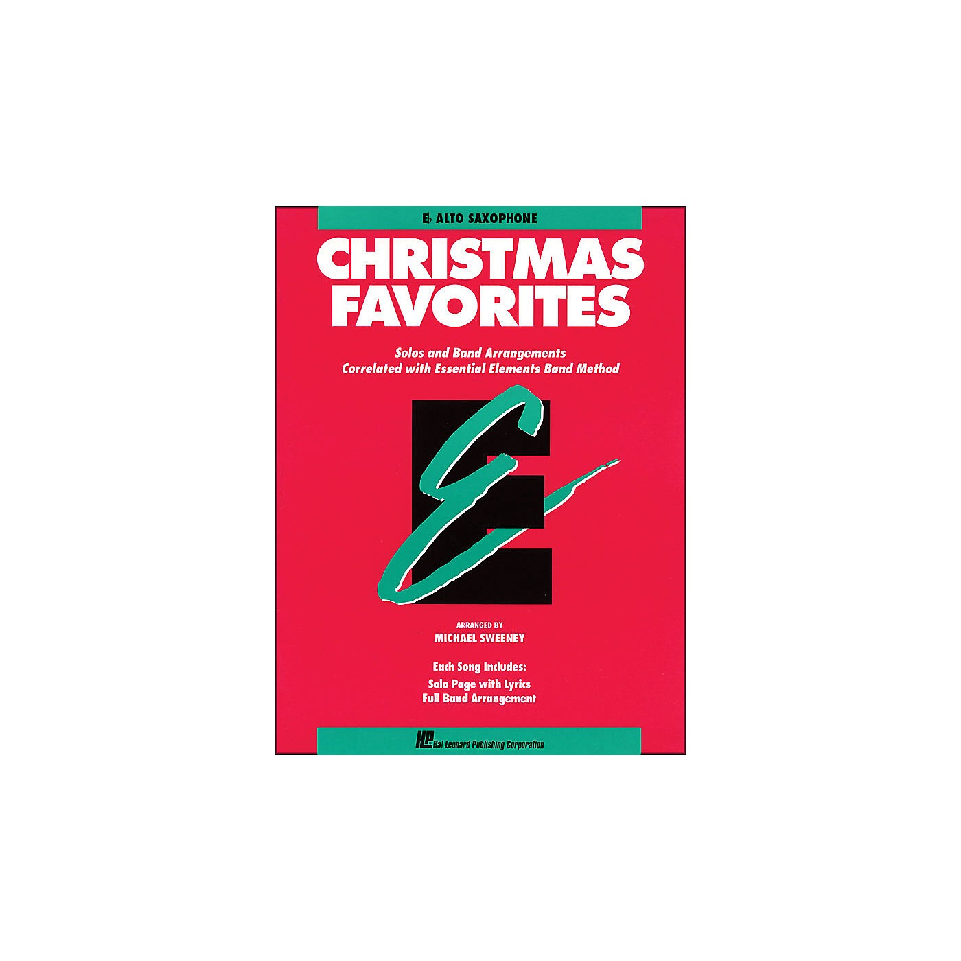 Hal Leonard Essential Elements Christmas Favorites E Flat Alto Saxophone thumbnail