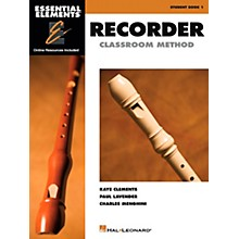 Hal Leonard Essential Elements For Recorder Book/CD Pack