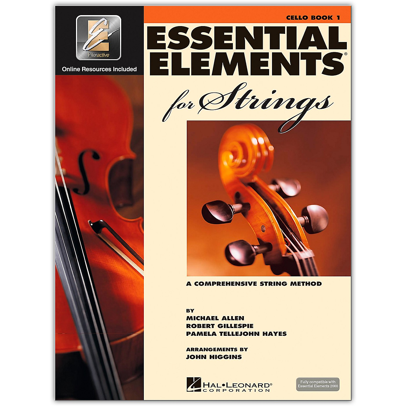 Hal Leonard Essential Elements For Strings Cello (Book 1 with EEi) thumbnail