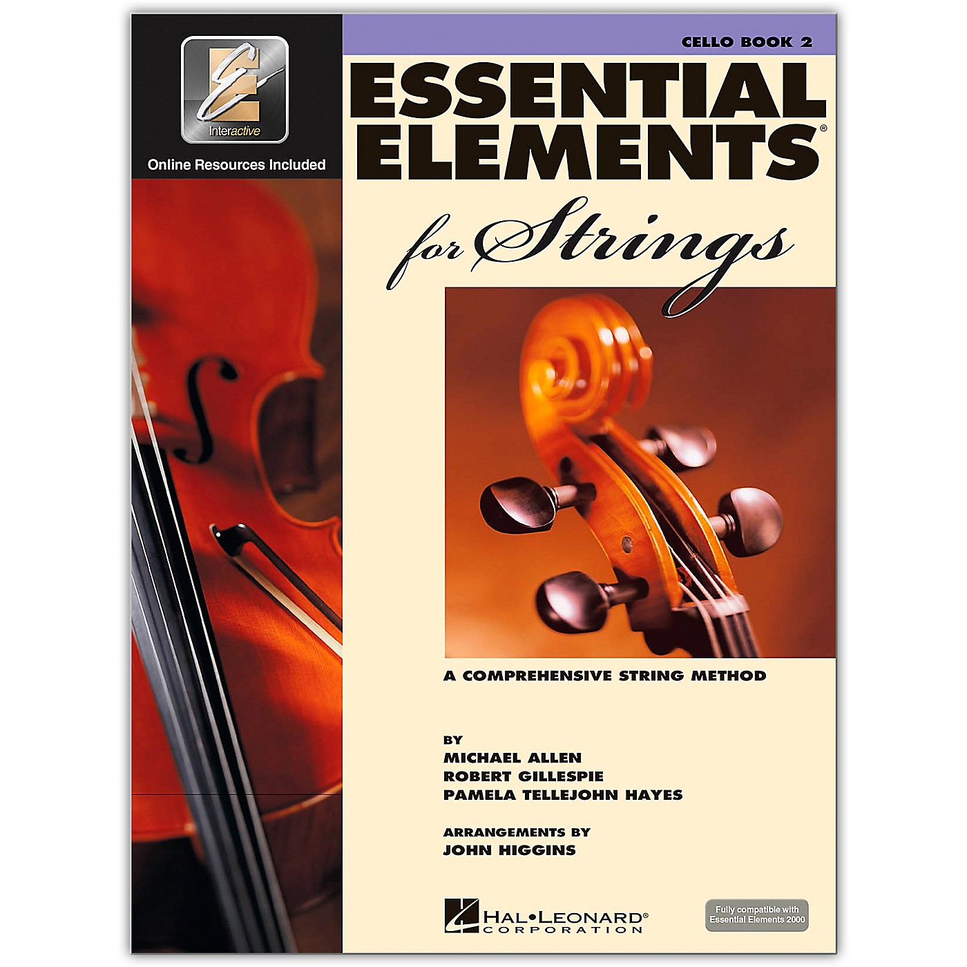Hal Leonard Essential Elements For Strings Cello (Book 2 with EEi) thumbnail