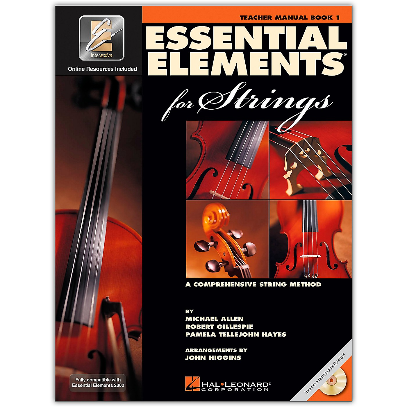 Hal Leonard Essential Elements For Strings Teacher's Manual (Book 1 with EEi and CD-ROM) thumbnail