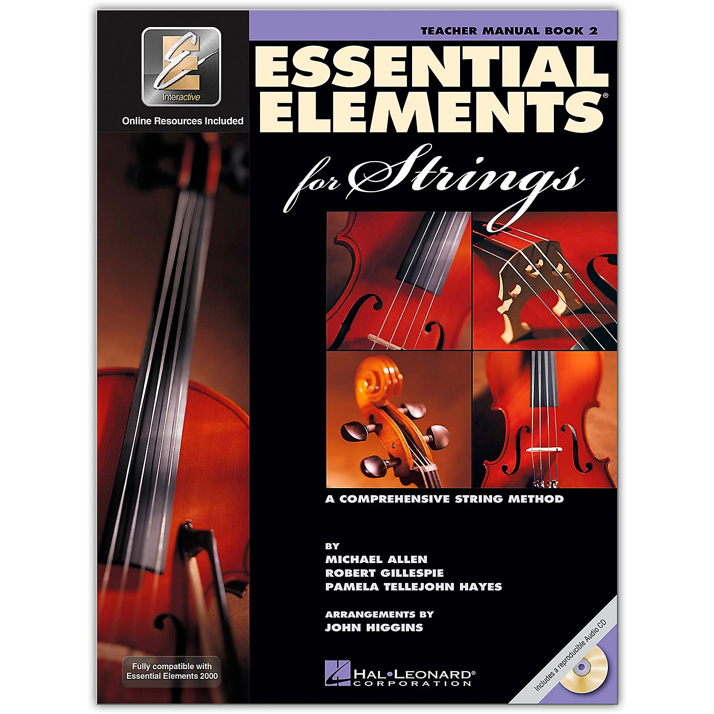 Hal Leonard Essential Elements For Strings Teacher's Manual (Book 2 with EEi and CD) thumbnail