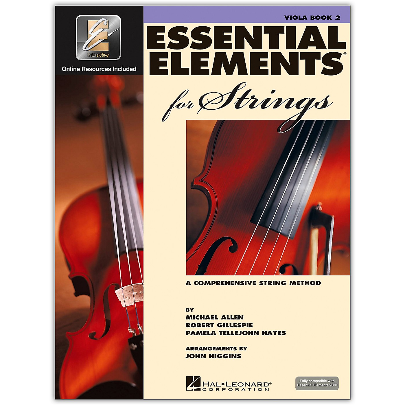 Hal Leonard Essential Elements For Strings Viola (Book 2 with EEi) thumbnail