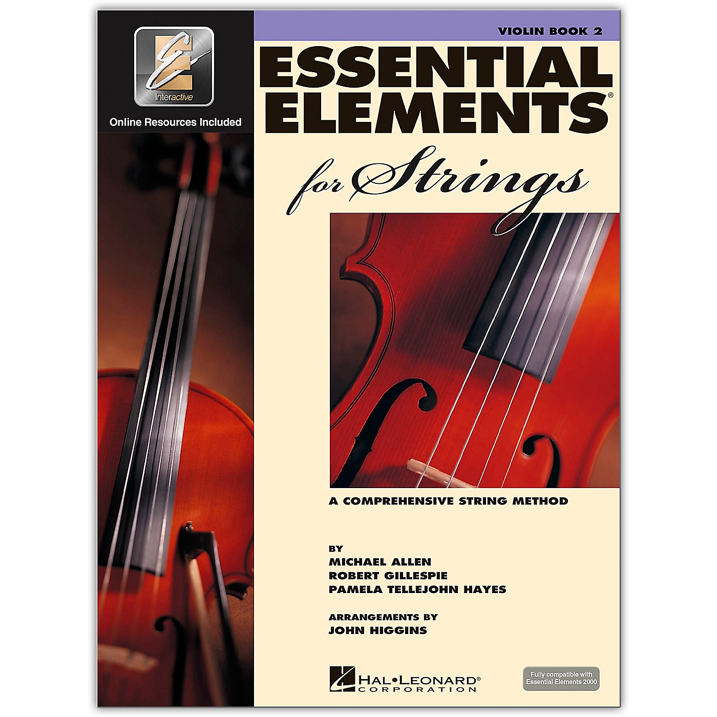 Hal Leonard Essential Elements For Strings Violin (Book 2 with EEi) thumbnail